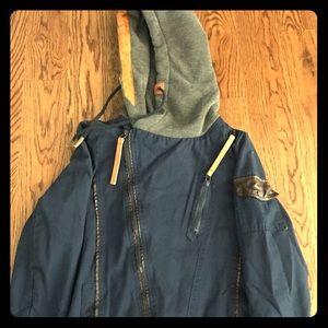 Jackets & Blazers - Women's fall jacket in navy